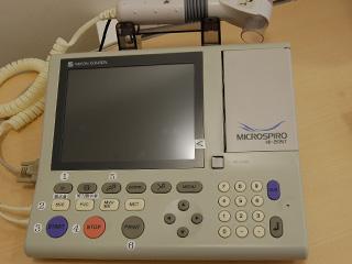 呼吸検査機器